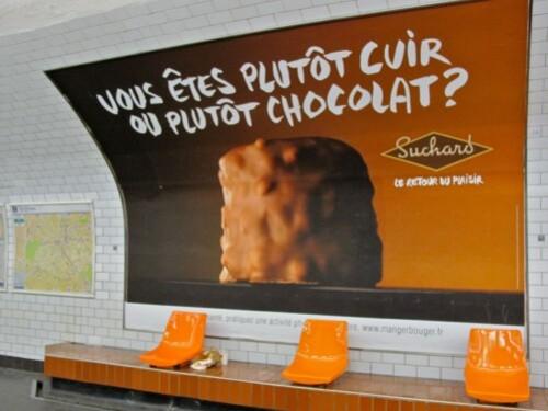 affiche rocher Suchard plaisir 1213