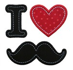 Pique-aiguilles Moustache - SC n°247
