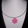 collier rose bonbon 8euros