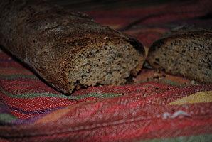 Pain à la farine d'épeautre et graine de pavot