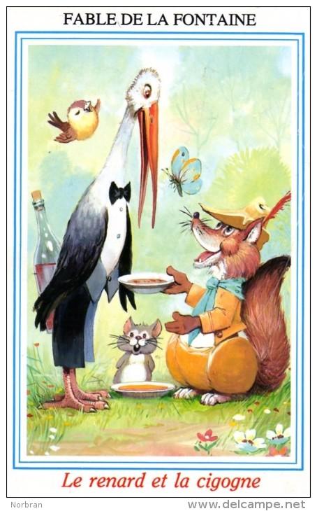 La cigogne blog du prasmel - Le renard et la cigogne dessin ...