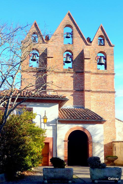 Goyrans 31: église, place, …