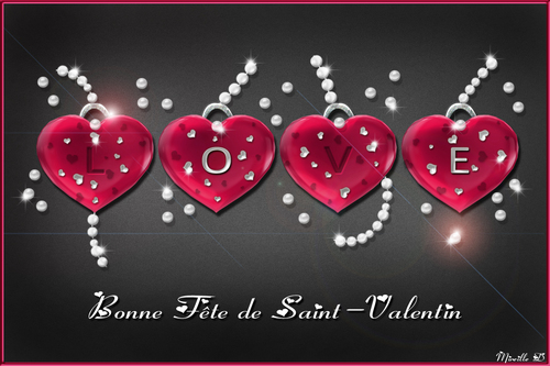 Coeur Brillant de Saint-Valentin