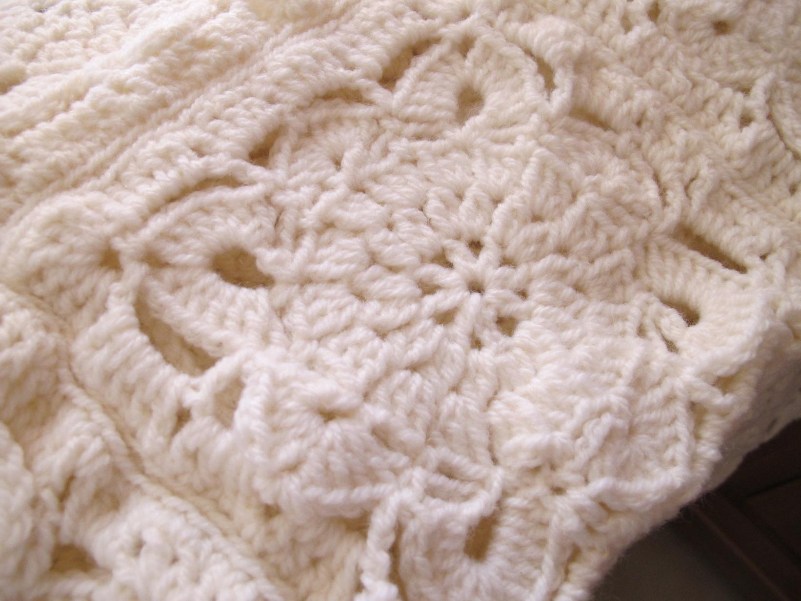 Plaid Au Crochet La Suite L Atelier De Vanoise