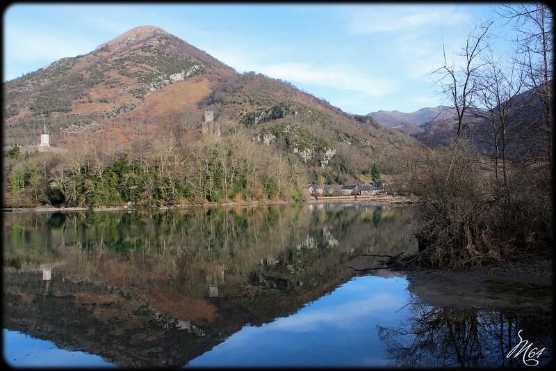 Le lac de Castet (64 )