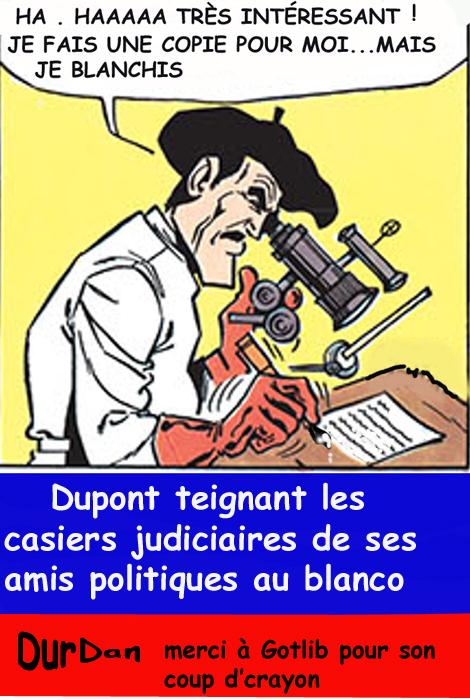Dupont Aignant/ présidentielle/ duel/moralité