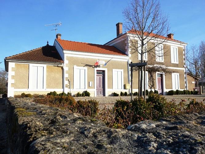 Monuments et architecture - Village d'Aubiac - Aubiac
