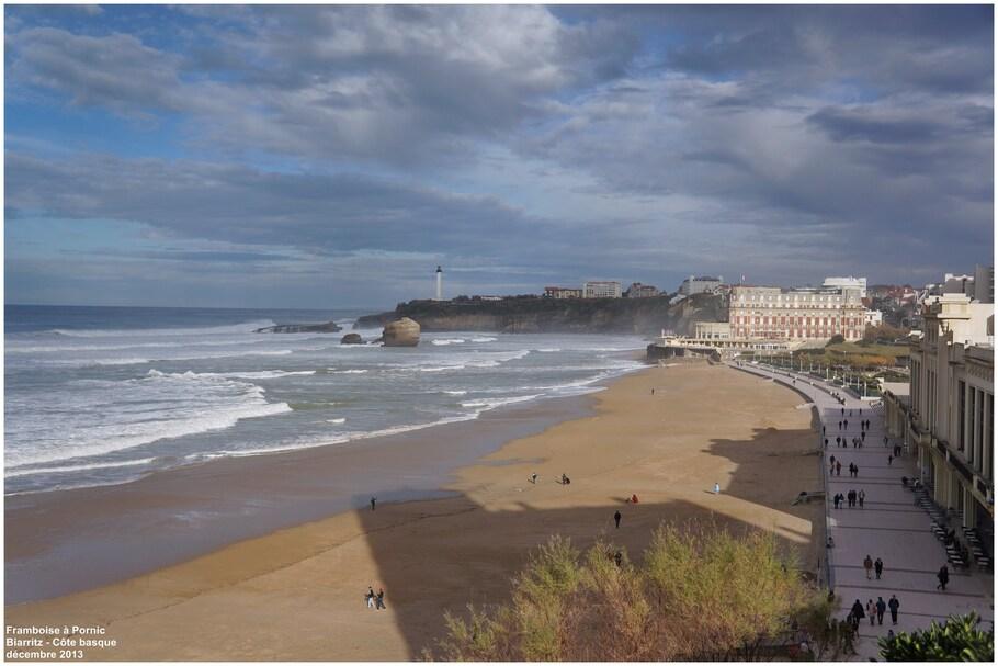 Promenade et casino de Biarritz