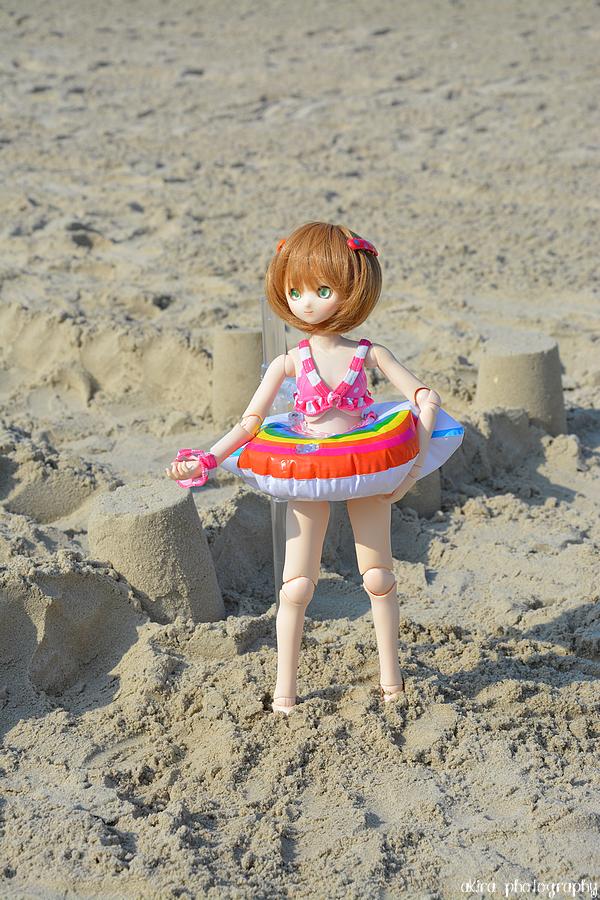 Sakura va à la plage !