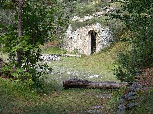 La Batterie du Chatelard (Saint Vincent les Forts)