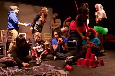 dance ballet theatre actors scene
