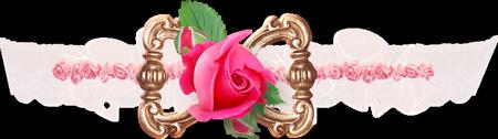 Tubes Déco divers rose