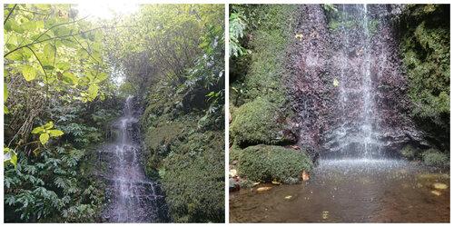 Une cascade dans les environs du Sentier du Malbar Mort