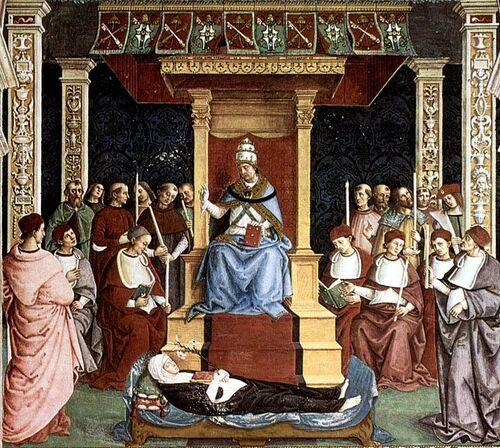 25 mars 1347 : naissance de Catherine de Sienne