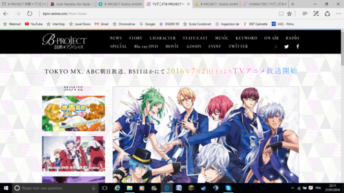 B-PROJECT : Kodou Ambitious - Anime