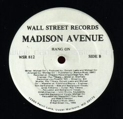 Madison Avenue - Hang On