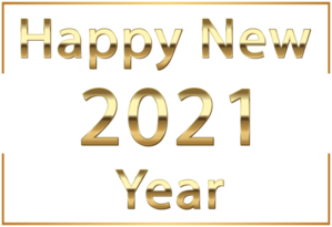 This png image - Happy New Year 2021 Gold PNG Clipart, is available for free download