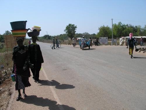 Jour de marché à Sapouy