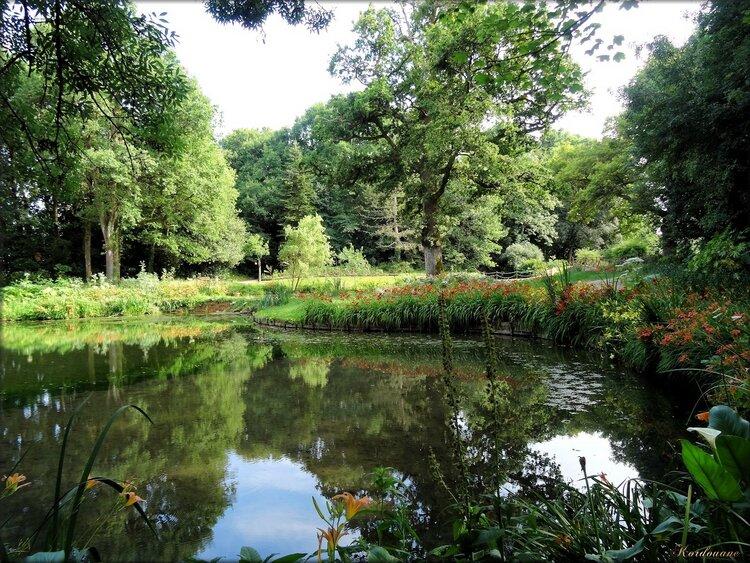 Paysages du parc floral de la Court d'Aron