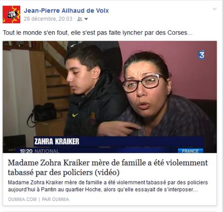Petite revue de web sur les derniers évènements en Corse