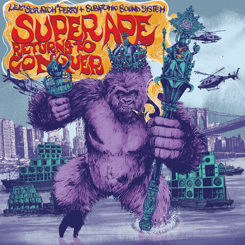 Lee Scratch Perry and Subatomic Sound System - Super Ape Returns To Conquer (2017) [Reggae, Neo Roots]