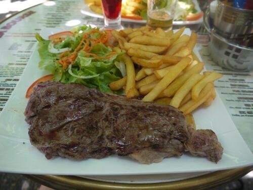 Steak de taureau