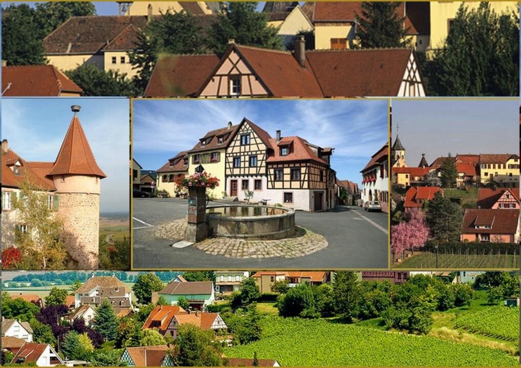 Un beau village en Alsace