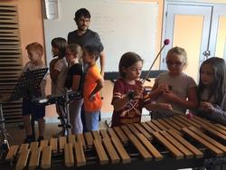 Découverte d'instruments de musique avec l'école de musique