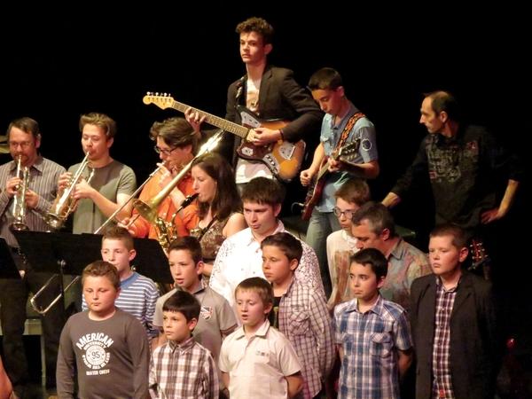 Le concert 2014 de l'Ecole Municipale de musique de Châtillon sur Seine a remporté un grand succès !