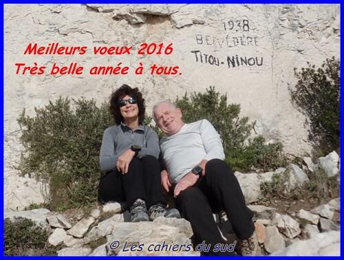 La prem's de 2016, calanques, le belvédère de Titou Ninou