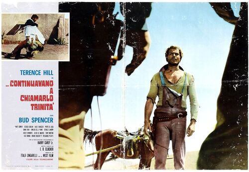 ON CONTINUE DE L'APPELER TRINITA - TERENCE HILL BOX OFFICE 1972