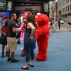 052 - NYC - time\'s square - Elmo & Mario & Co