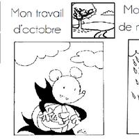 Coloriage Ludo Cp.Pages De Garde Pour Ranger Vos Feuilles A4 L Ecole De Crevette