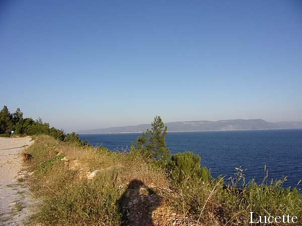 Promenade à Rabac et Labin