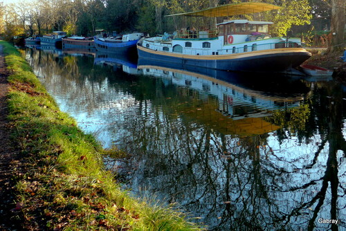 Coopération (4) : Graulhet ... Canal du Midi ...