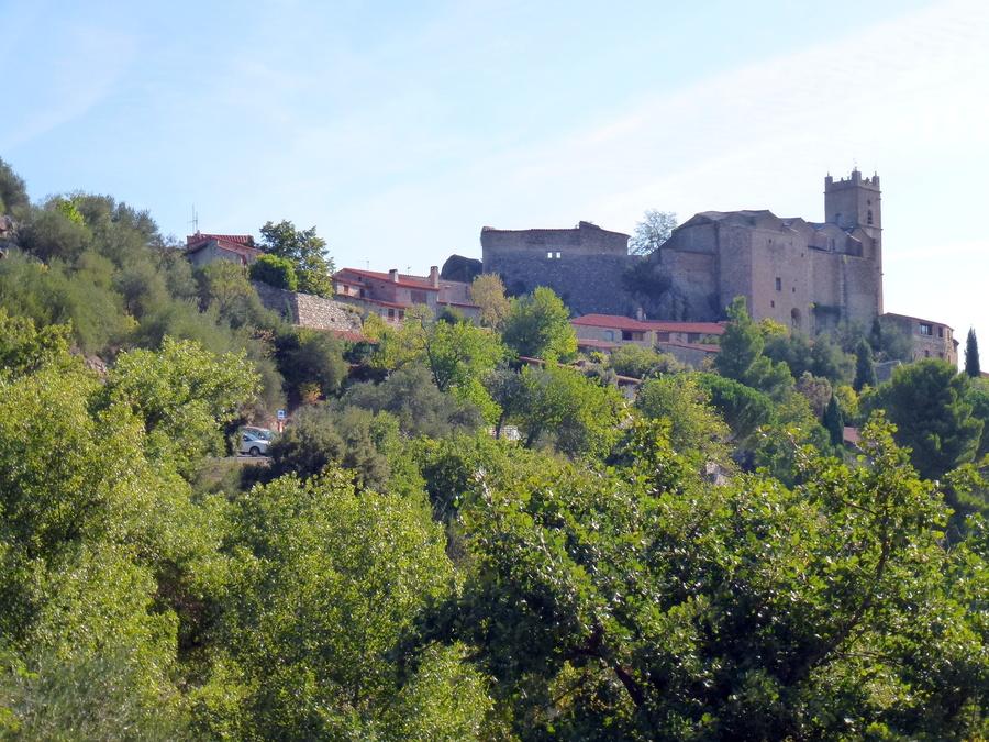 Le village d'Eus ( canton de Prades- Pyrénées orientales.)