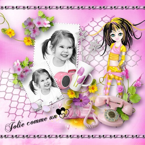 Little Girl - Tagger kit
