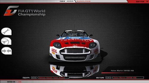 Aston Martin DBRS9 - Aston Martin 6.0 L V12