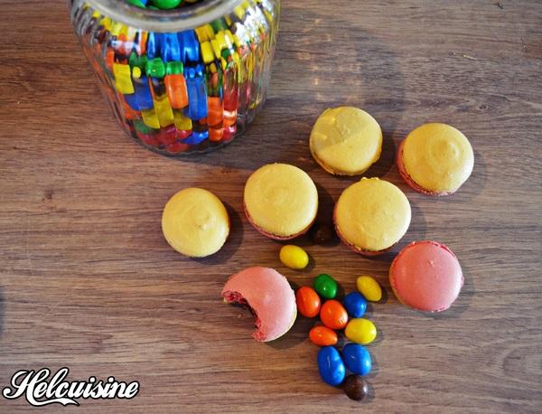 Macarons aux M&m's !