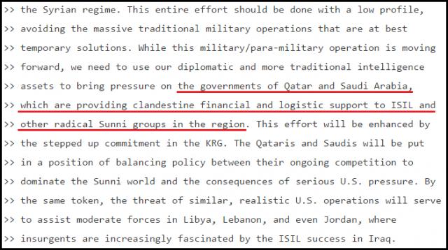 Dans un mail divulgué par WikiLeaks, Hillary Clinton assure que l'Arabie saoudite finance l'Etat islamique