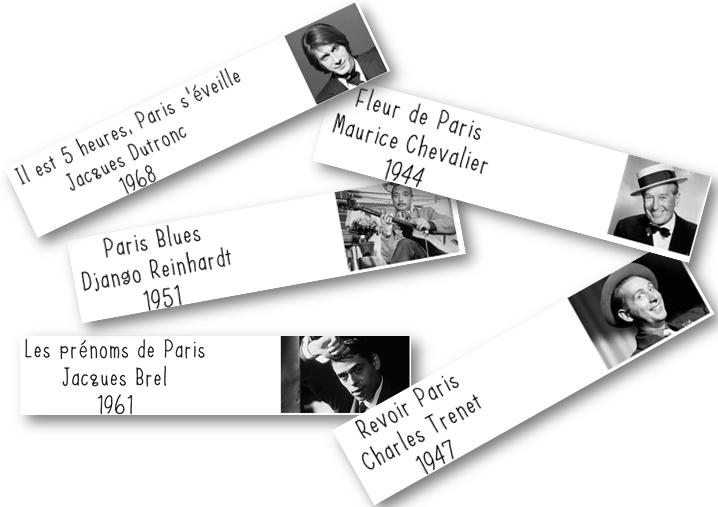 Ecoute musicale: Paris