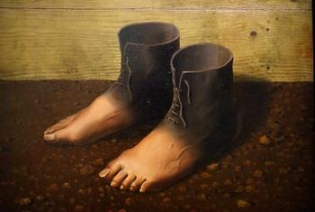 René Magritte, Le modèle rouge