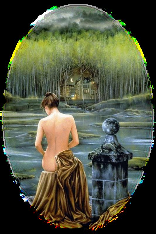 Femmes dans l'eau