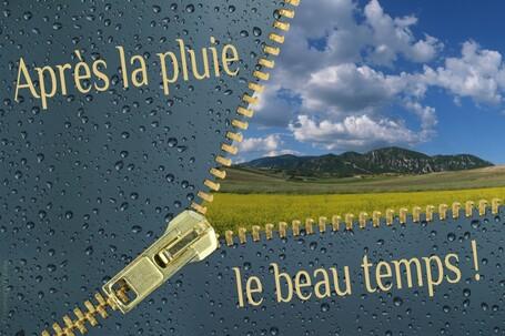 Résultat d'images pour Après la pluie, le beau temps.