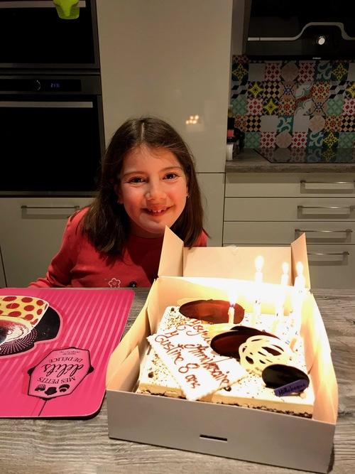 8 ans Justine!