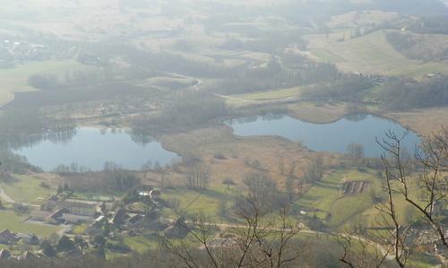 Les lacs de Saint-Jean-de-Chevelu