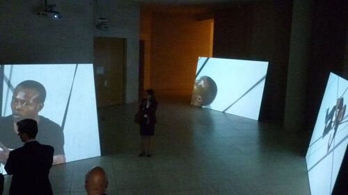 Sylvie Blocher au musée d'art moderne du Luxembourg