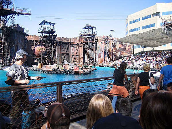 Los Angeles Studio Universal attraction Waterworld 2