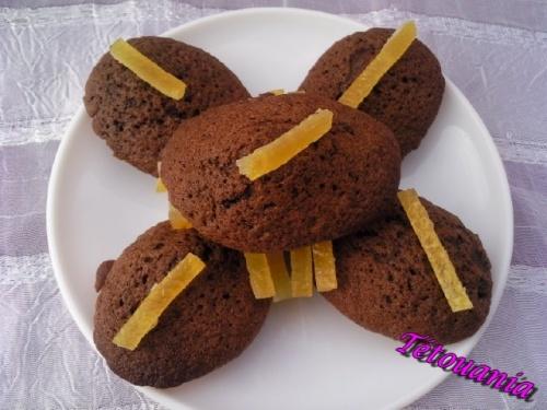 madeleine choco/orange