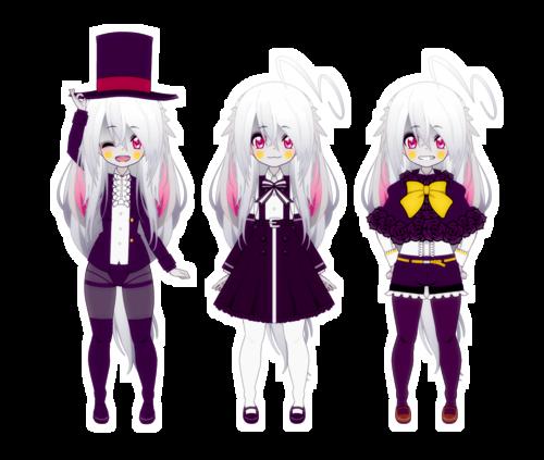 [Kisekae - Crystal] Little remake + random clothes ~
